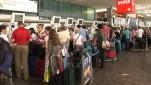 Hochsaison am Flughafen