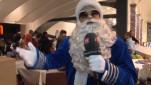 Der Airport Santa ist zurück: Weihnachten am Flughafen