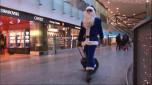 Auch Airport Santa gelandet