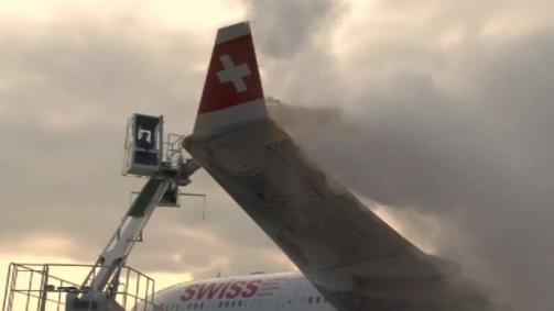 Die Enteiser vom Flughafen Zürich