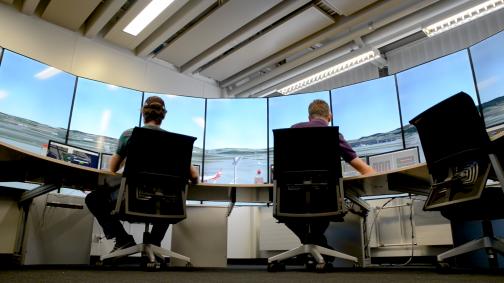 Neuer Tower Simulator am Flughafen Zürich