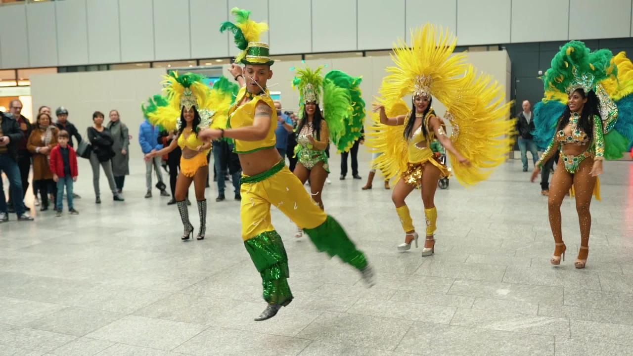 Brasilienfeeling am Flughafen